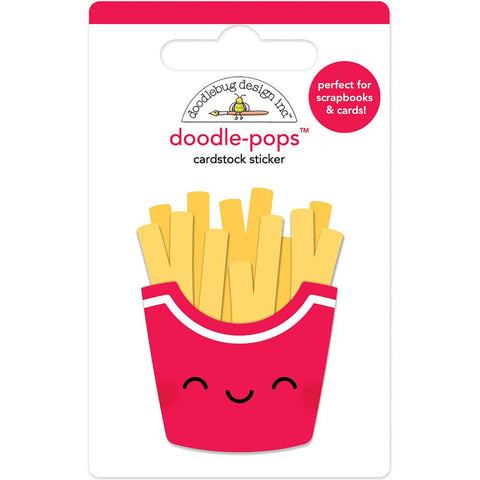 Doodlebug Doodle Pop Sticker French Fry Fries