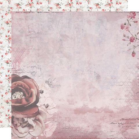 Rosabella Darling Flush Scrapbook Paper