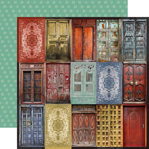 Grand Bazaar Doorway Scrapbook Paper