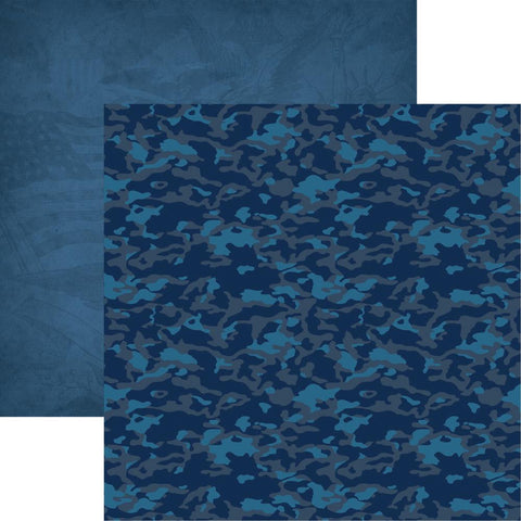 Military Air Force #4 Scrapbook Paper
