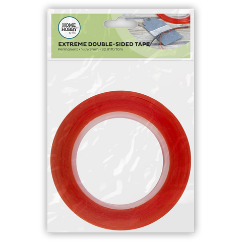 Double Sided Tape Extreme 1/8""