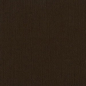 Solid Color Brown Bazzill Scrapbook Paper