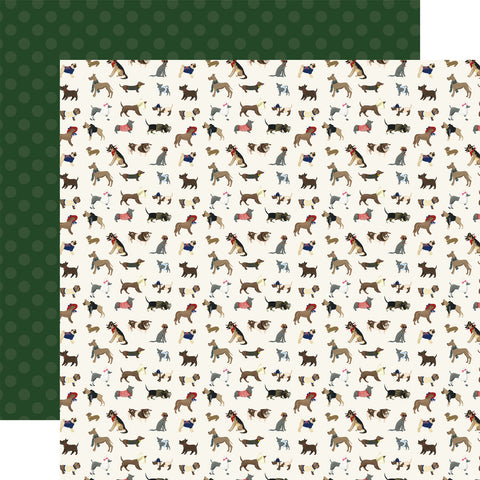 Dogs Pets Puppy Furry Friends Scrapbook Paper