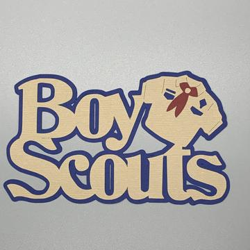 Die Cut Ellie Collection Boy Scouts