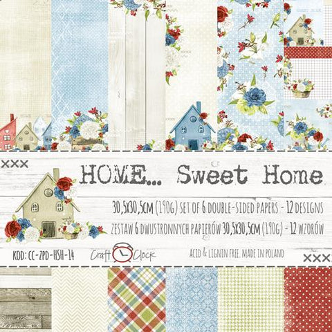 Craft O'Clock Home Sweet Home Paper Pack