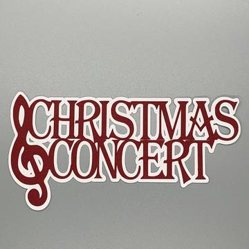 Die Cut Ellie Collection Christmas Concert