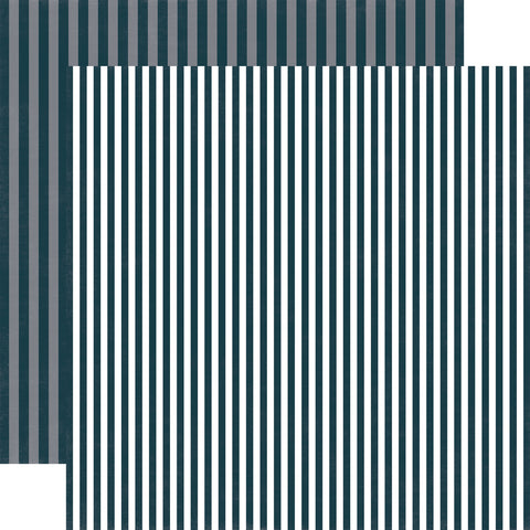 Stripes Toy Soldier Scrapbook Paper