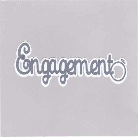 Die Cut Ellie Collection Engagement Wedding
