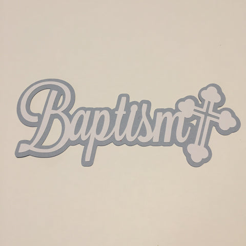 Die Cut Ellie Collection Baptism