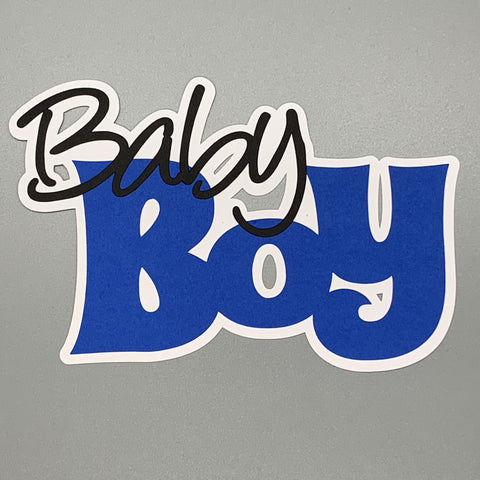 Die Cut Ellie Collection Baby Boy