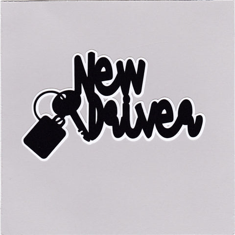 Die Cut Ellie Collection New Driver