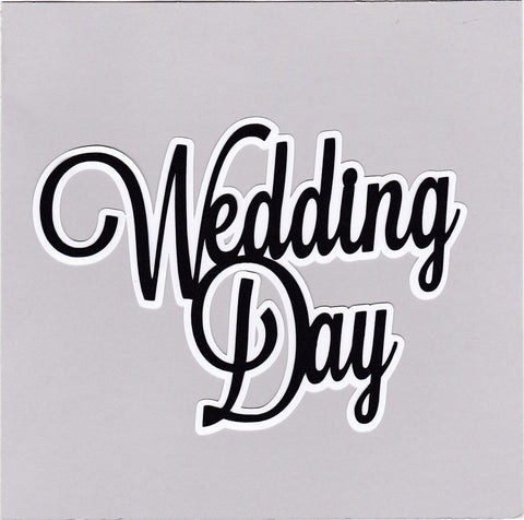 Die Cut Ellie Collection Wedding Day