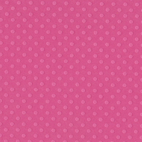 Solid Color Bazzill Scrapbook Paper Dotted Swiss Ballet