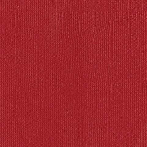 Solid Color Bazzill Scrapbook Paper Classic Red
