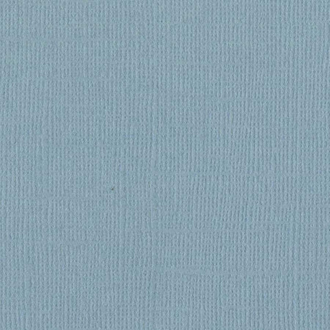 Solid Color Bazzill Scrapbook Paper Coastal Blue