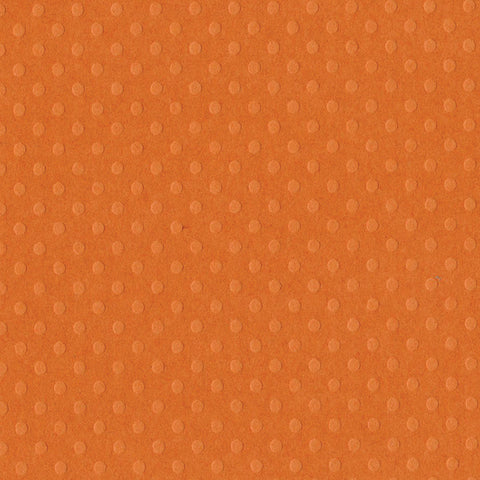 Solid Color Bazzill Scrapbook Paper Dotted Swiss Festive