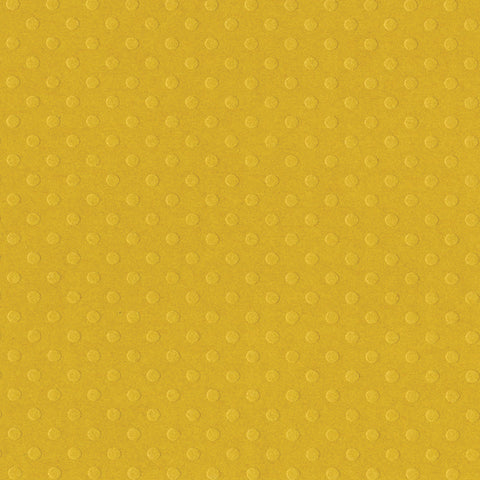 Solid Color Bazzill Scrapbook Paper Dotted Swiss Honey