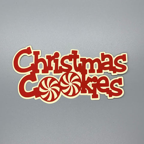 Die Cut Ellie Collection Christmas Cookies