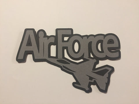Die Cut Ellie Collection Air Force