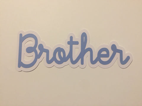 Die Cut Ellie Collection Family Brother