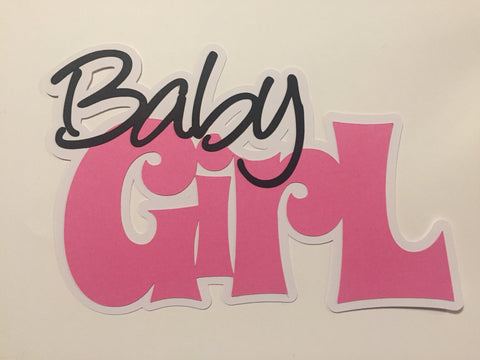 Die Cut Ellie Collection Baby Girl