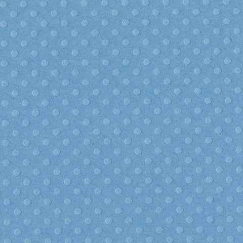 Solid Color Bazzill Scrapbook Paper Dotted Swiss Poolside