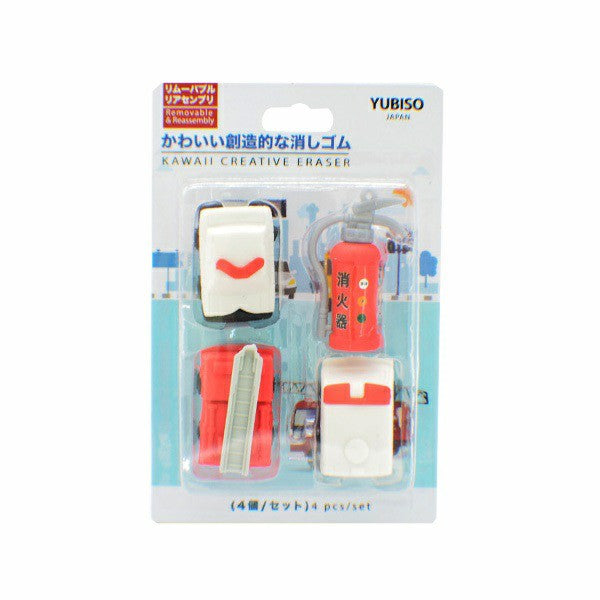 YUBISO 3D Shaped Transport Eraser A820004