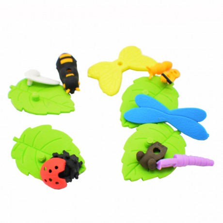 YUBISO 3D Shaped Insect Eraser A820010