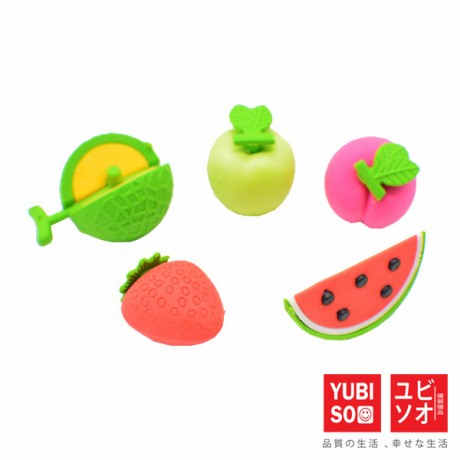 YUBISO 3D Shaped Fruit Eraser A820013