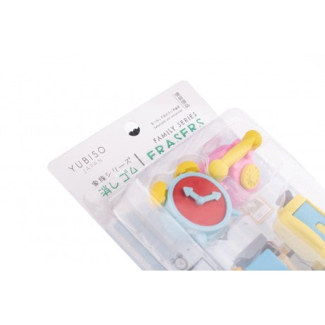 YUBISO 3D SHAPED FAMILY ERASER A820015