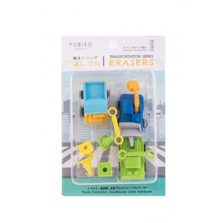YUBISO  3D SHAPED TRANSPORT ERASER A820016
