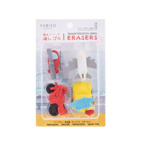 YUBISO  3D SHAPED TRANSPORT ERASER A820017