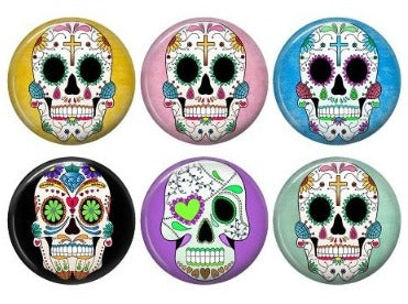 Sugar Skull Magnets - Diane Tu Getit