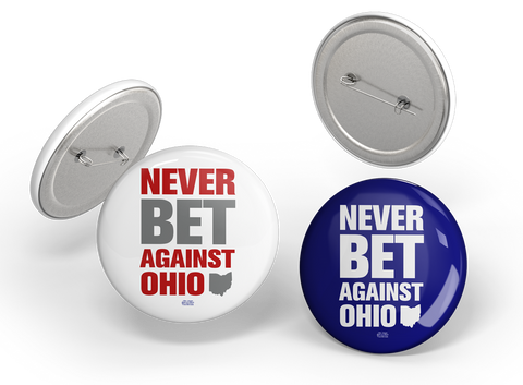 Never Bet Against Ohio Button Pack