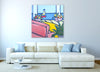 Sailboat and Flowers - Canvas River