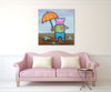 Nursery Pig - Canvas River