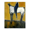 White Horse and Rider - Canvas River