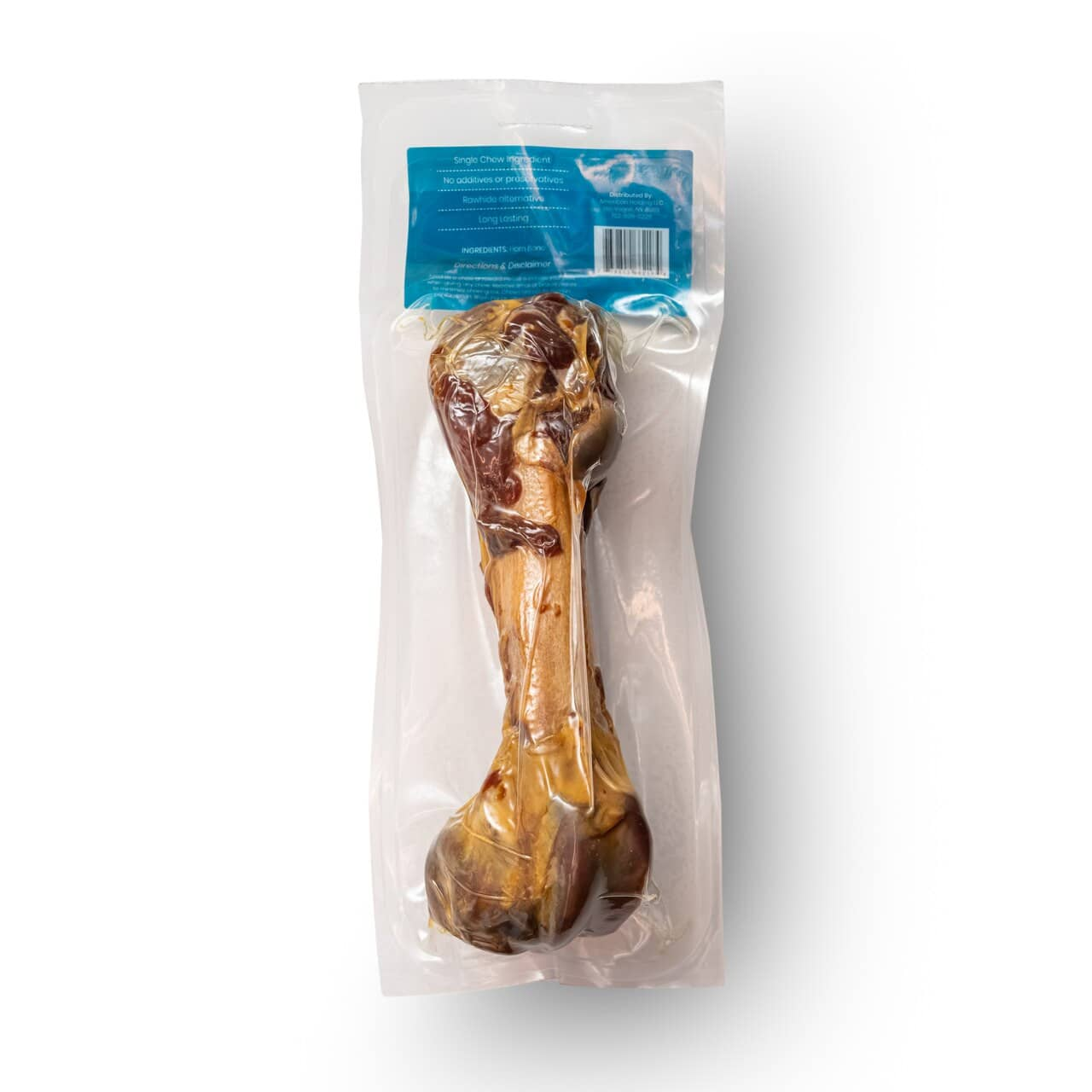Ham Bone Serrano | Tasty, Long Lasting, Single Ingredient, All-Natural Dog Chews |