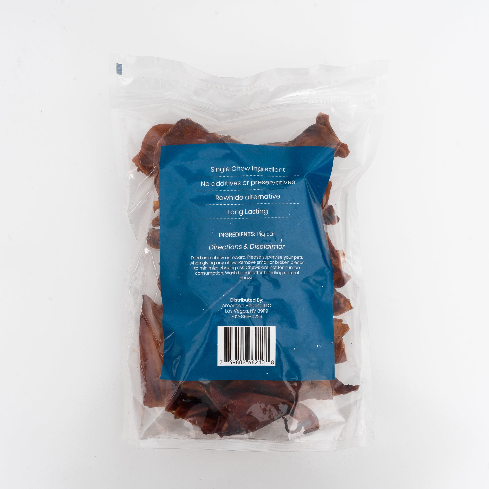 Half Pig Ears 25 Pack - Platinum Pet Treats | Single Ingredient Dog Chew
