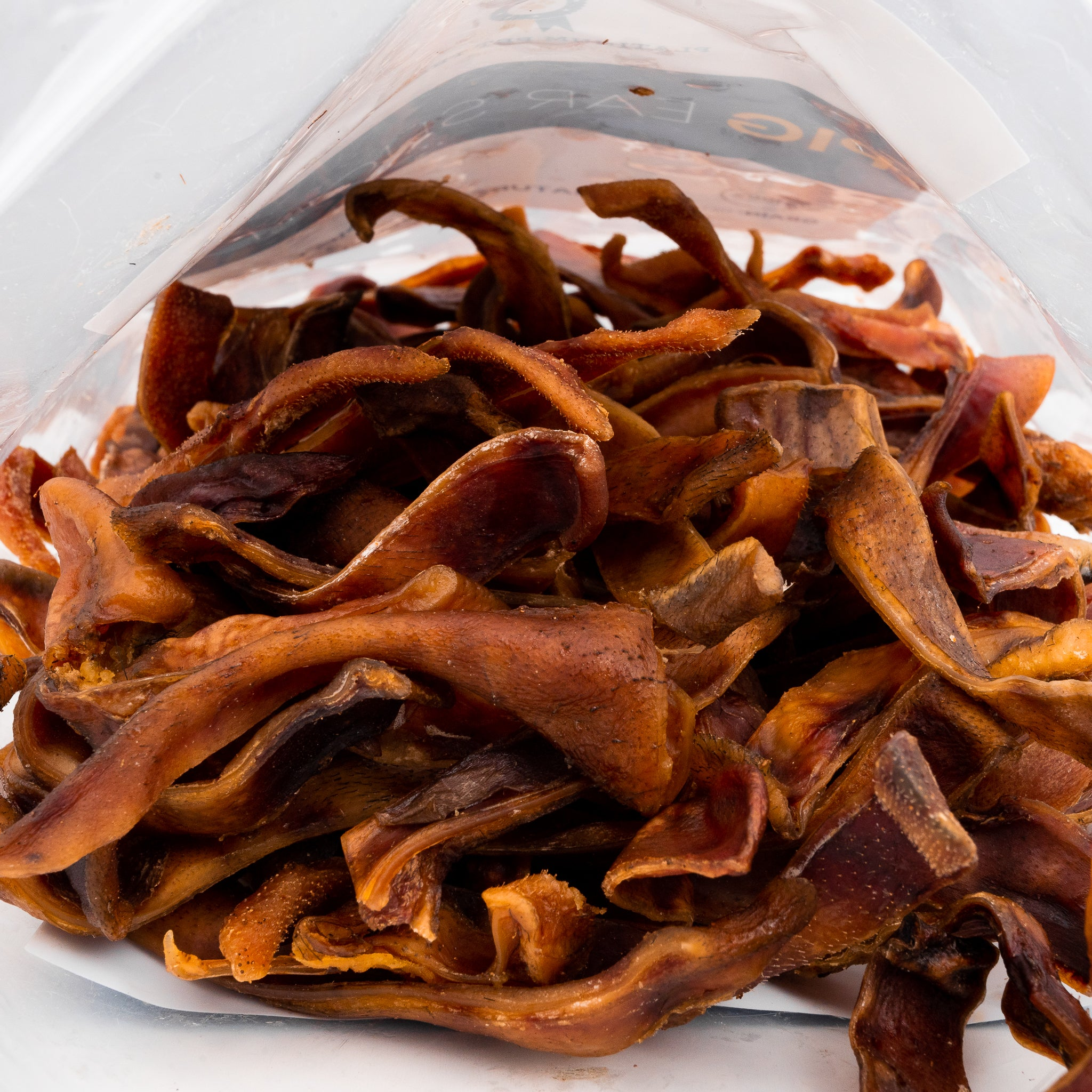 Pig Ear Sliced 16oz | Tasty, Long Lasting, Single Ingredient, All-Natural Dog Chews |