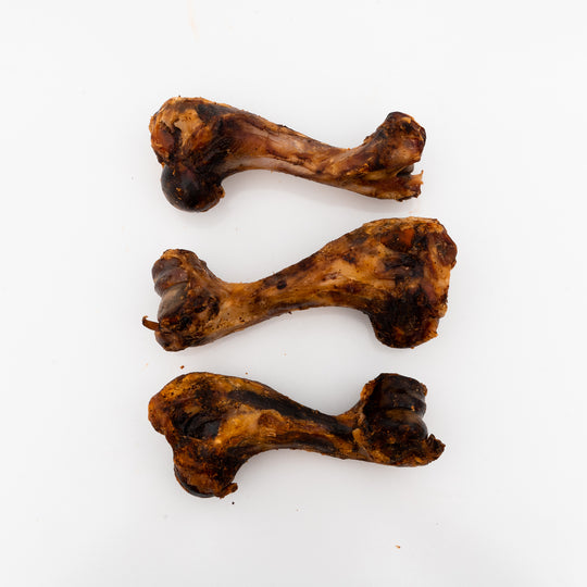 Pork Humerus Bone 3 Pack - Tasty Long Lasting Single Ingredient All-Natural Dog Chews