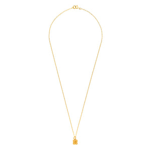 B.REBEL GOLD LITTLE BR NECKLACE