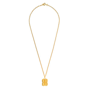 B.REBEL GOLD BR NECKLACE