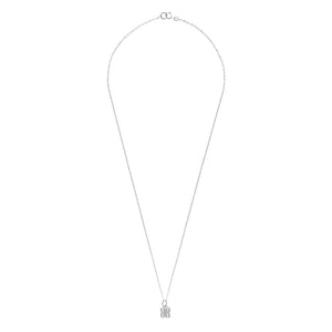 B.REBEL SILVER LITTLE BR NECKLACE