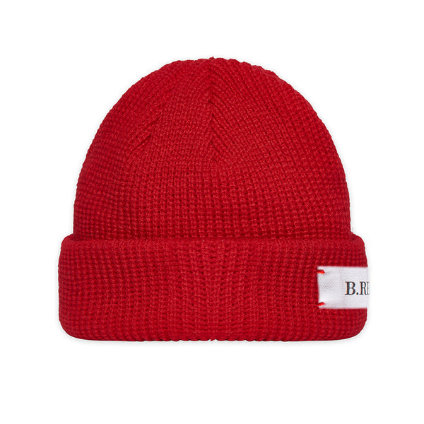 B.REBEL KNIT BEANIE RED