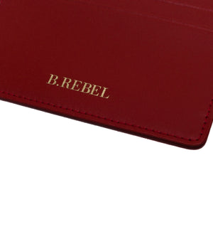 Red Leather Cardholder