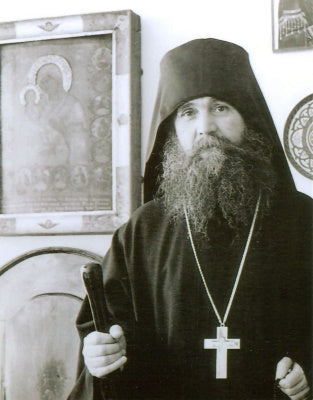 Geronda Ephraim, former abbot of the Holy Monastery of Philotheou and spiritual father of St. Anthony's Monastery