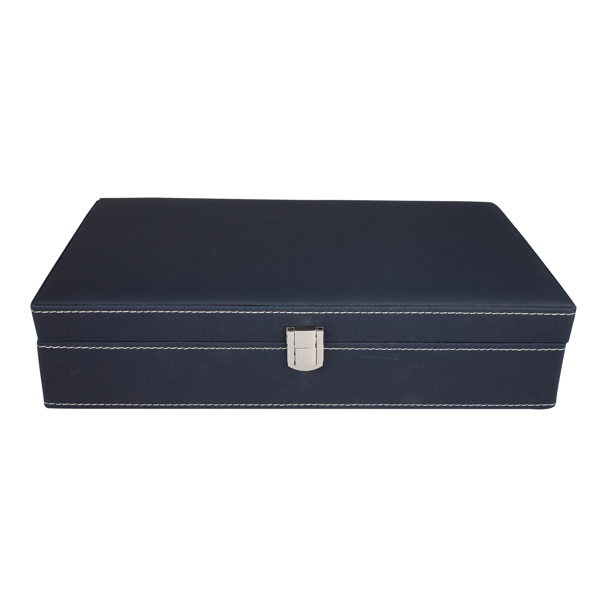 Anything & Everything Watch Box Oragnizer 12 Slots (Blue)