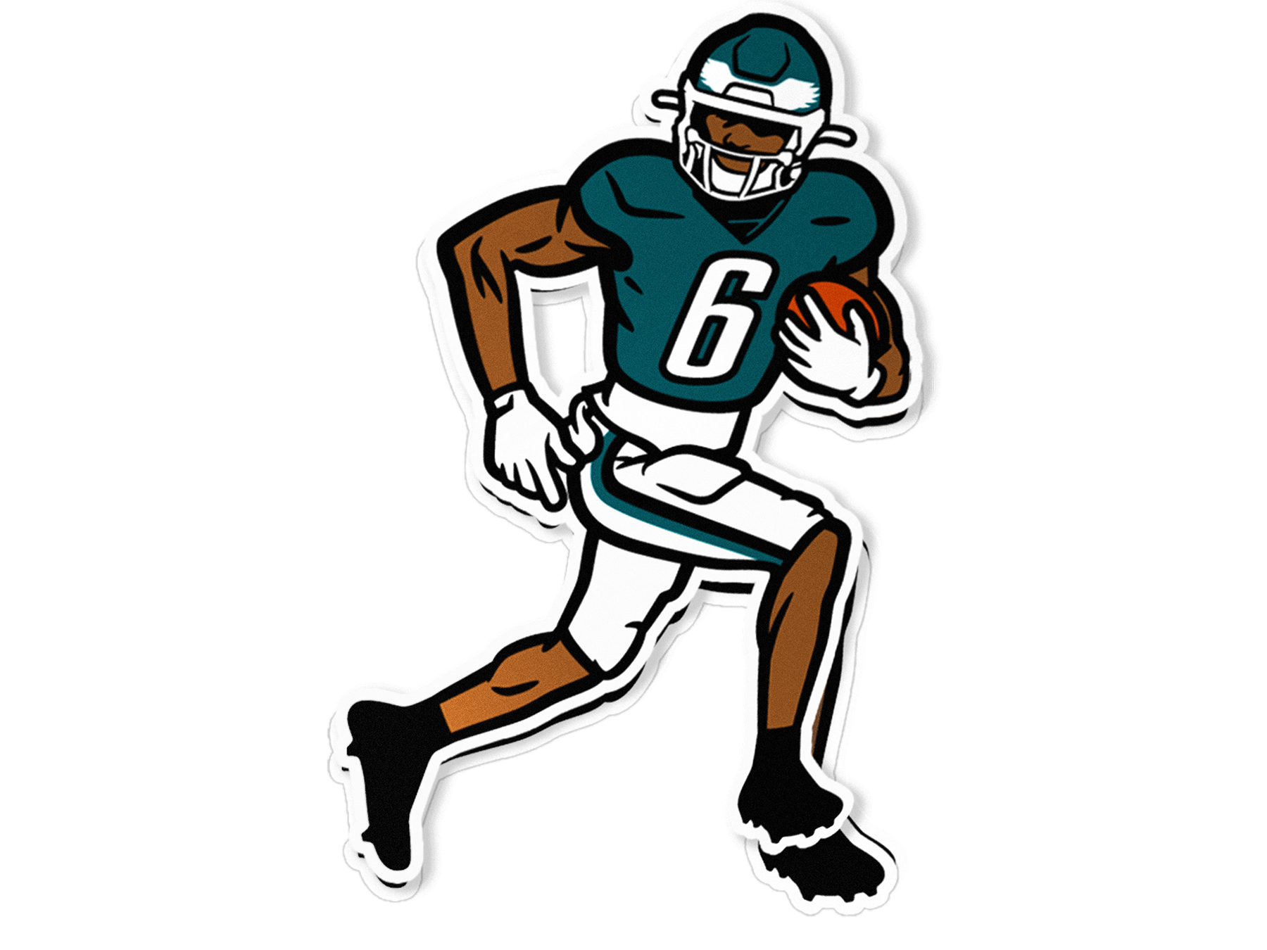 Downfield Decal
