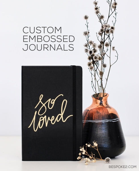 EMBOSSED CUSTOM JOURNAL